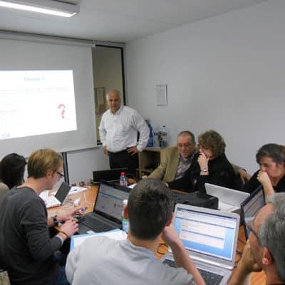 Salle de formation au webmarketing dans les locaux de ID AGIR