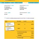 Exemple récapitulatif panier e-commerce