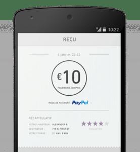 Le paiement mobile avec Paypal
