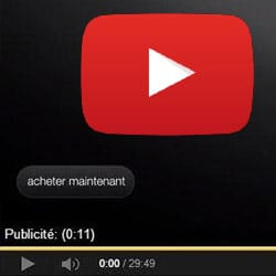 Youtube sort son bouton « acheter »