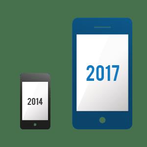 Le marché de l'Internet mobile prêt à doubler d'ici à 2017