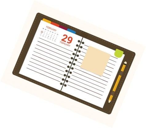 calendrier de contenu editorial