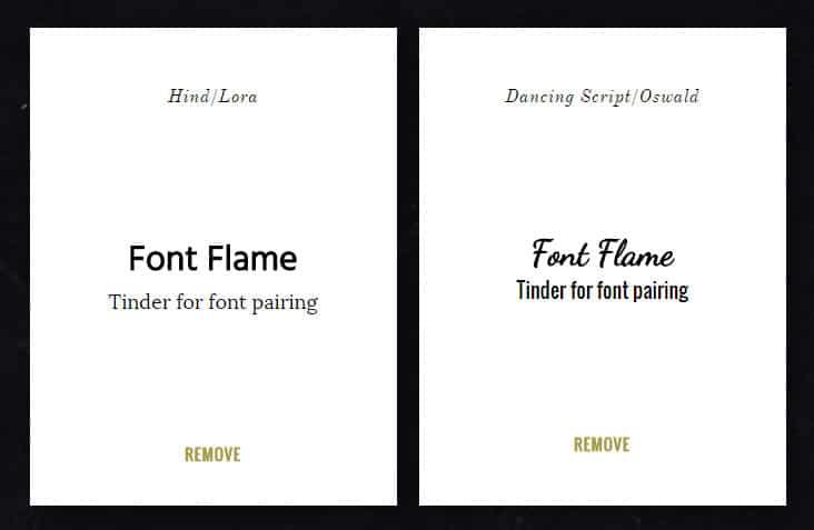 Font Flame