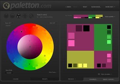 choix des couleurs web