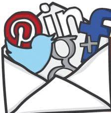 L'email ou le réseau social ? Pourquoi pas les deux !