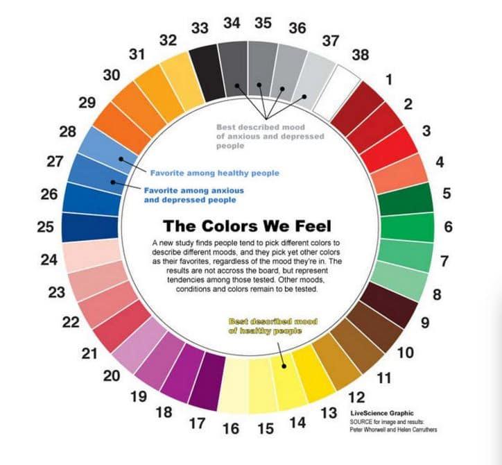 couleurs actions web