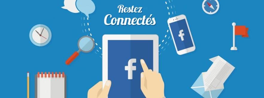 Facebook Restez Connectés