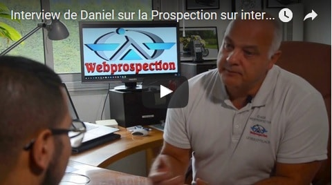 Interview de Daniel Ibarrart sur Webprospection