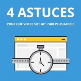 4 astuces pour que votre site ait l'air plus rapide