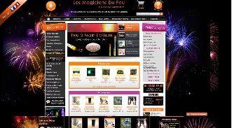 refonte site lesmagiciensdufeu2012