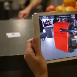 La réalité augmentée pour afficher vos produits.