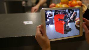 réalité augmentée avec l'application Augment