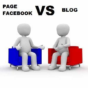 Blog ou page Facebook?
