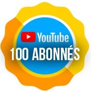100 abonnés à notre chaine Youtube