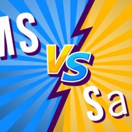 Les différences entre CMS et SaaS