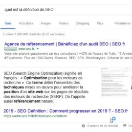Conseils pour atteindre la position 0 Google