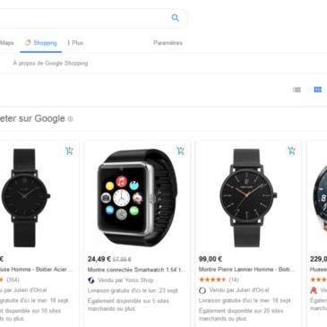 Ecommerce – La marketplace Google sort de sa bêta