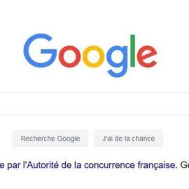 L'autorité de la concurrence condamne Google