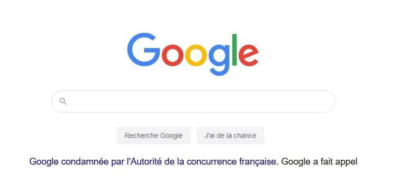 condamnation-google
