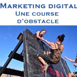 Marketing digital : une course de haies pour le dirigeant