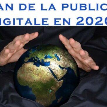 Bilan de la publicité digitale en 2020